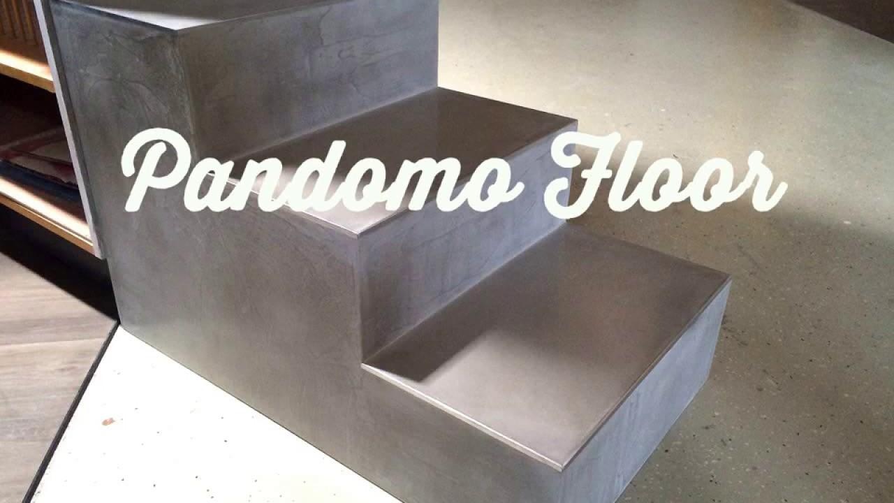 der maler kniesburges pandomo floor treppe betonoptik fugenlose b den paderborn meinolf. Black Bedroom Furniture Sets. Home Design Ideas