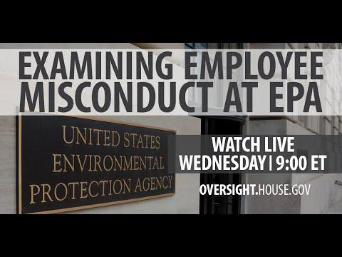 Examining Employee Misconduct at EPA