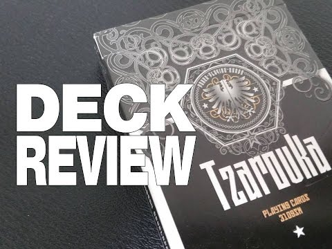 Deck Review - Tzarovka Playing Cards by Misery Dev. Ltd.and LPCC