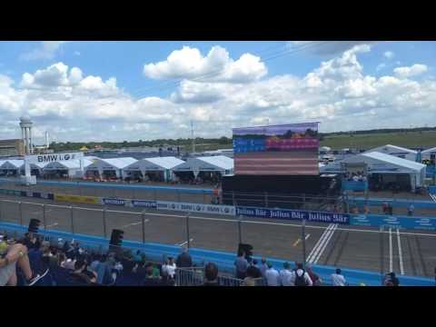 Roborace test before Berlin Formula E 2017 eprix