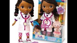 Boneca doutora brinquedos em portugues completo