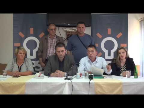 Press konferencija BPS Sefer Halilović Kalesija