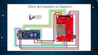 Фоторамка на Aрдуино своими руками /Arduino DIY Photo Frame