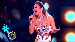 Adabel Guerrero le puso show a su performance de Luis Miguel con coreografía incorporada