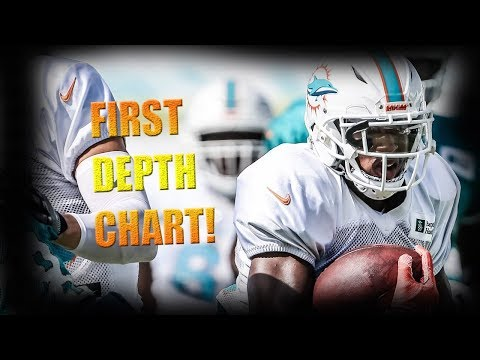 Miami Dolphins First Official Depth Chart Reaction! | @1KFLeXin | Miami Dolphins Fan