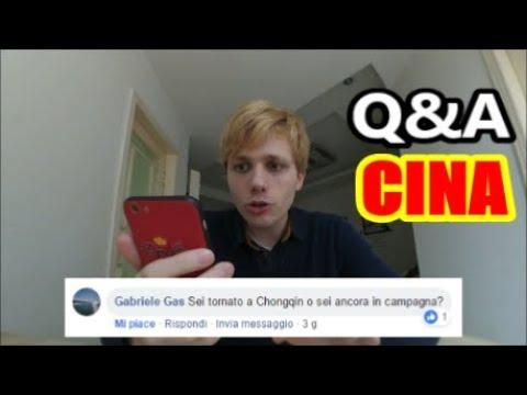 RISPONDO ALLE VOSTRE DOMANDE - Q&A CINA