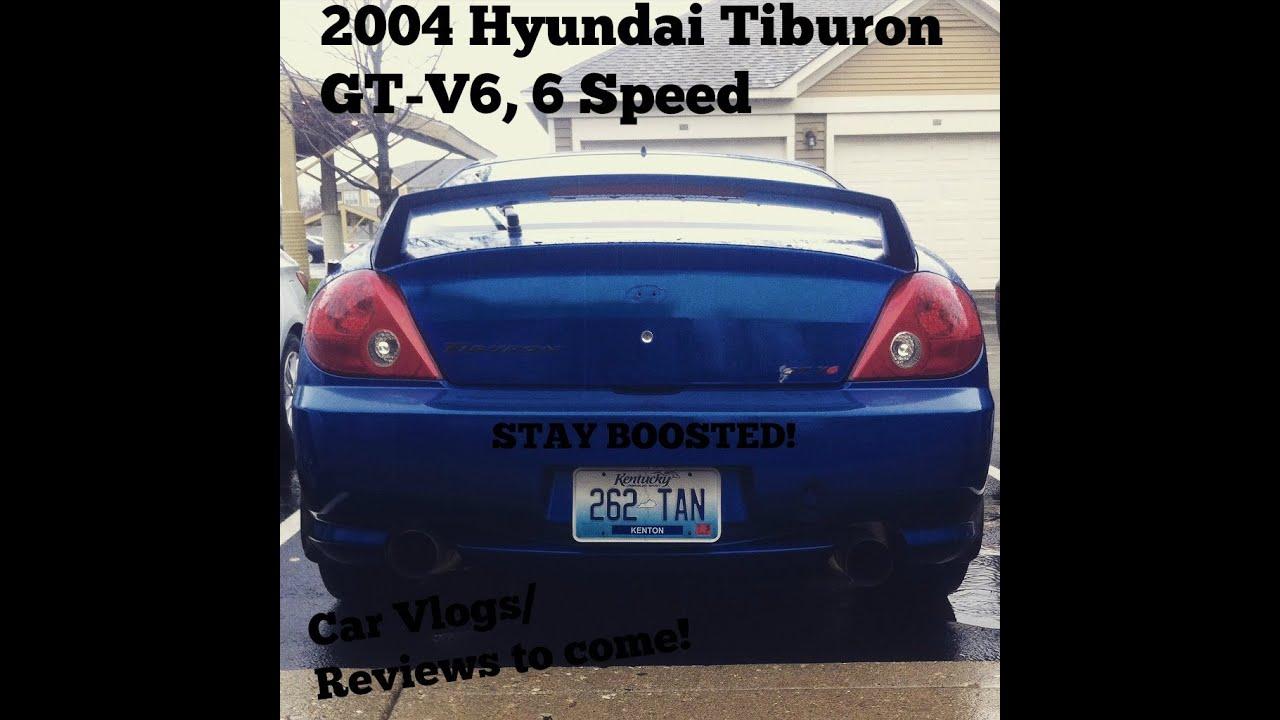 2004 Hyundai Tiburon Gt V6 Car Vlogs Reviews To Come
