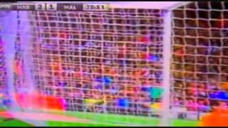 2da  Asistencia de Roberto Rosales en Liga y lo mejor de su actuación en el  Real  Madrid vs Málaga