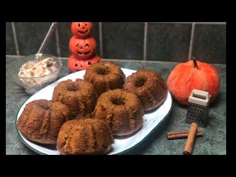 How to Make Homemade Pumpkin Muffins! (Baking with Grandma!)