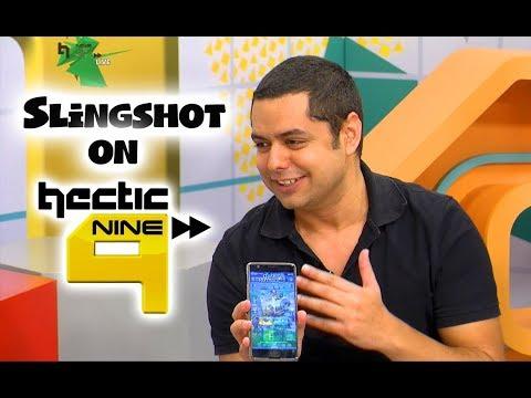 Slingshot Gamer on Hectic Nine 9 (Live Television)