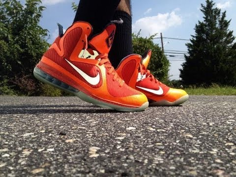 fc5ad27d05120 Lebron 9 Big Bang Galaxy All Star Review + ON FEET! - YouTube