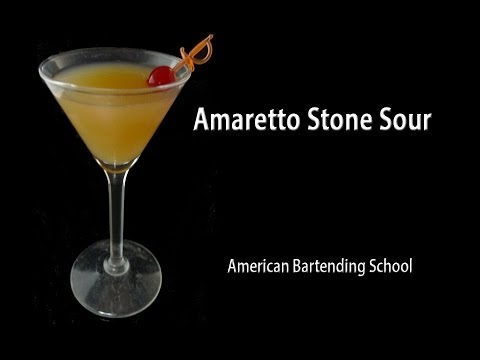 Amaretto Stone Sour: A Nutty Sweet and Sour Cocktail