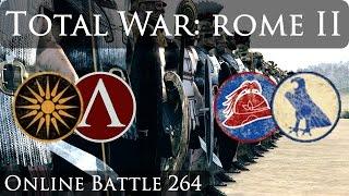Total War Rome 2 Online Battle Video 264(I finally run into THFE Oakley. Enjoy the awesome battle! https://www.youtube.com/user/THFEProductions., 2015-08-27T06:12:34.000Z)