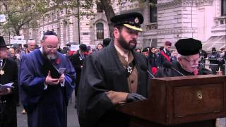AJEX - Annual Remembrance Ceremony & Parade - London 2014