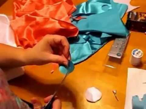 Burnt Edge Silk Bow ~ NO SEW | Cute Girls Hair Bows