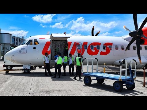 WINGS AIR | IW1917 FLIGHT EXPERIENCE SOLO TO SURABAYA