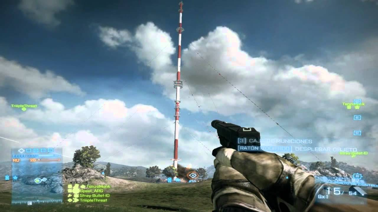 Battlefield 3: Radio Tower Falls In Caspian Border Now