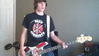 NOFX - Whoa On The Whoas bass cover