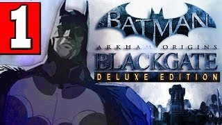 Batman: Arkham Origins Blackgate Deluxe Edition Walkthrough Part 1 Gameplay XBOX 360 PS3