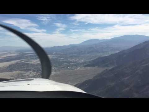 Arriving to Palm Springs