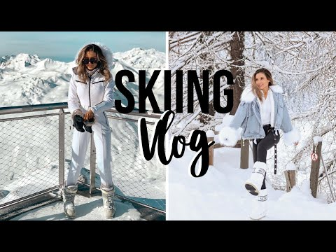 SKIING TRIP In Val D'isere, The FRENCH ALPS Travel Vlog 2020