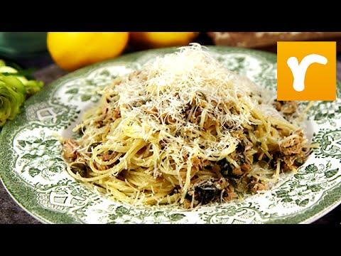 pasta med tonfisk