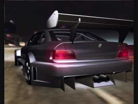 need for speed underground 2 car mod bmw m3 e36 - youtube