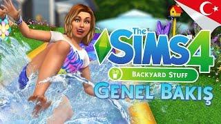 The Sims 4 Backyard Stuff İnceleme / Genel Bakış