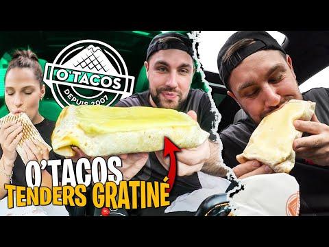 Gros O'Tacos Tenders Gratiné dans la voiture avec Pidi !