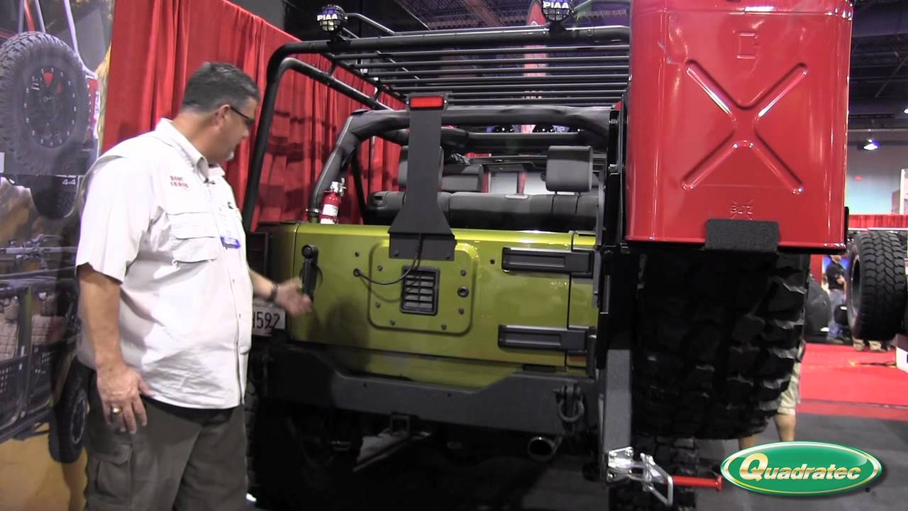 Quadratec At The Sema Show Body Armor 4x4 Rear High