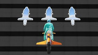 MILE HIGH FLYING BIKE STUNT RACE! - GTA 5 Funny Moments