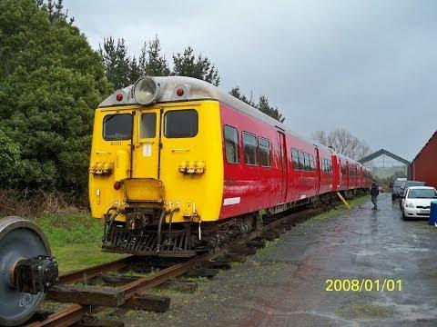 Cyclops Train (Old English Electrics Units) New Zealand 2013