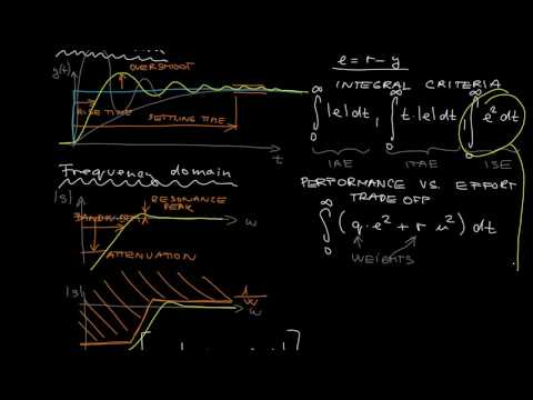 L3.1 - Introduction to optimal control: motivation, optimal costs, optimization variables