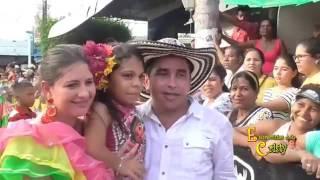 DESFILE DE AGUADORAS EN EL FESTIVAL DEL PORRO EN SAN PELAYO 2016