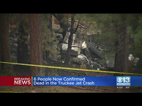 6 now confirmed dead in plane crash near Lake Tahoe, police say