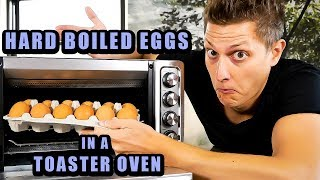 HARD BOILED EGGS IN A TOASTER …