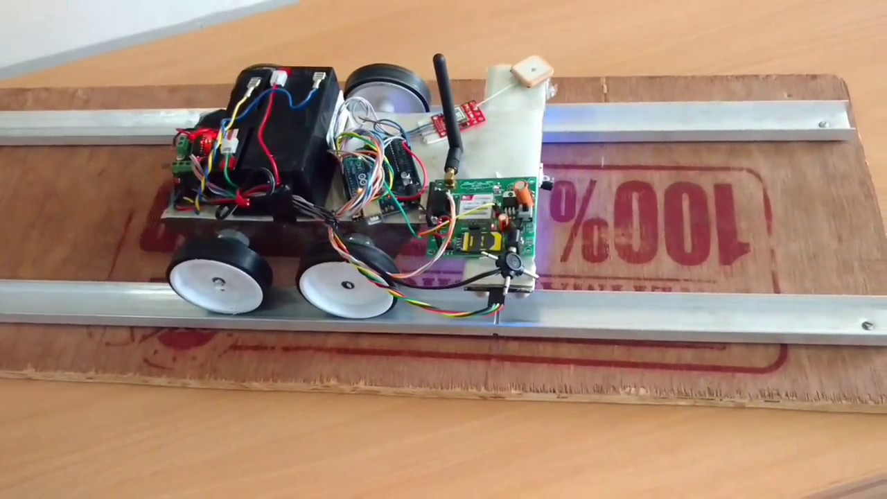 Automatic Railway Track Crack Detection System Final Year Project Wiring Block Detectors