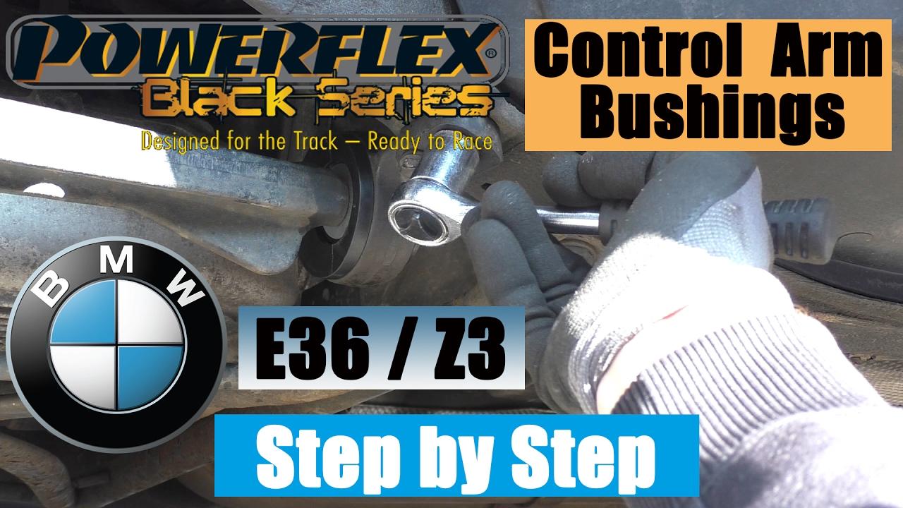 How To Replace Control Arm Bushings Bmw Z3 Bmw E36