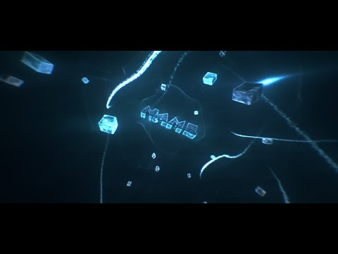 [FREE] Amazing Blue 3D Intro Template (C4D & AE) Doesn't require Trapcode plugins!