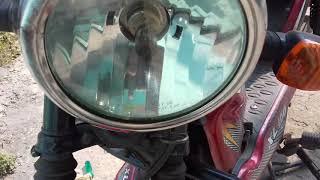 TVS XL 100 Headlight Bulb Repairing Shop This Video By( ..raju G )..?
