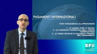 - Pagamenti internazionali -