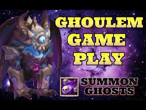 Castle Clash Ghoulem Gameplay! HBM!