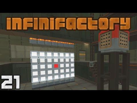 Infinifactory Laser Calibration Target Episode 21