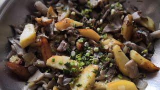 Древесные грибы с картошкой / Irinochka HandMade