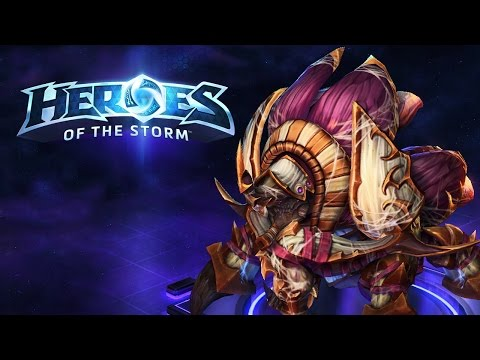Heroes of the Storm (Gameplay) - Anub'arak, A Spell Damage Az Mi? | Magyarul