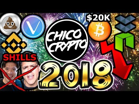 Chico 2018 Crypto Rewind. Will I Continue in 2019?  2018 Year Review Cryptocurrency