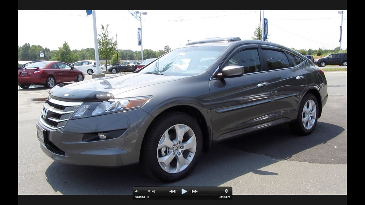 2011 Honda Accord Crosstour 4wd Ex L Start Up Engine And In Depth Tour Youtube