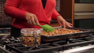 Holiday Cocktail Canapés: Sweet & Spicy Cajun Roasted Peanuts