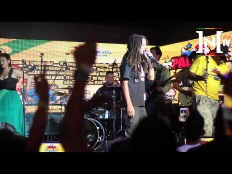 INI Roots and musik - Warrior King - Panama reggae Jam - Producciones Organiko