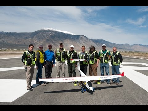 DRI Unmanned Cloud Seeding Aircraft Test flight